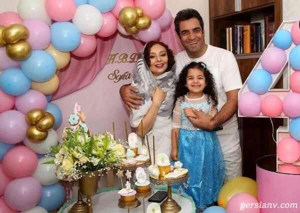 یکتا ناصر و خانواده اش