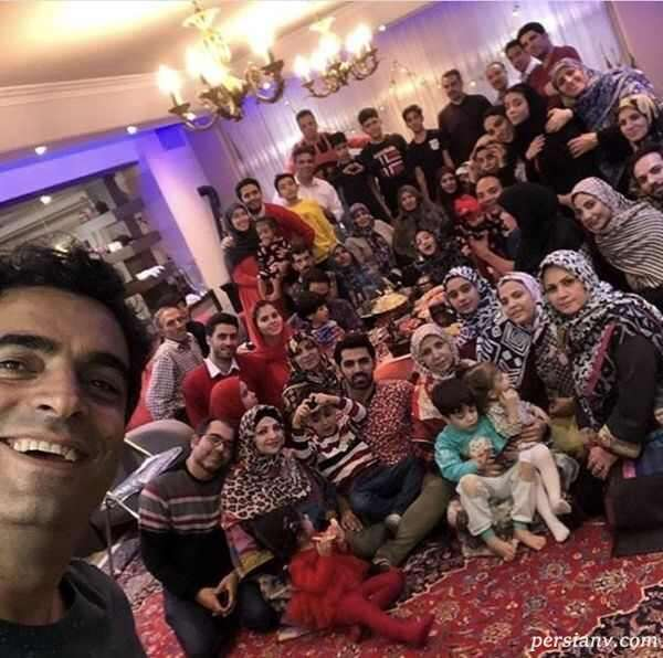 خانواده پرجمعیت منوچهر هادی