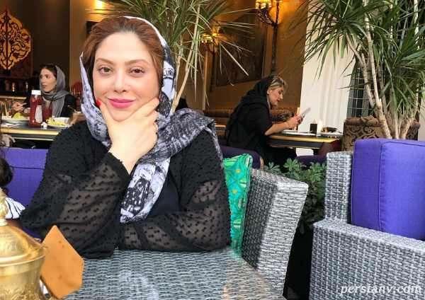 تصویر خاص از کیک تولد مریم سلطانی بازیگر باخانمان