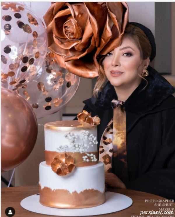کیک تولد مریم سلطانی
