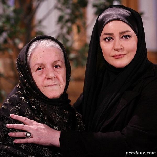 بازیگر زن و مادرش
