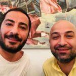 هم بازی شدن نوید محمد زاده و برادرش امید در قورباغه