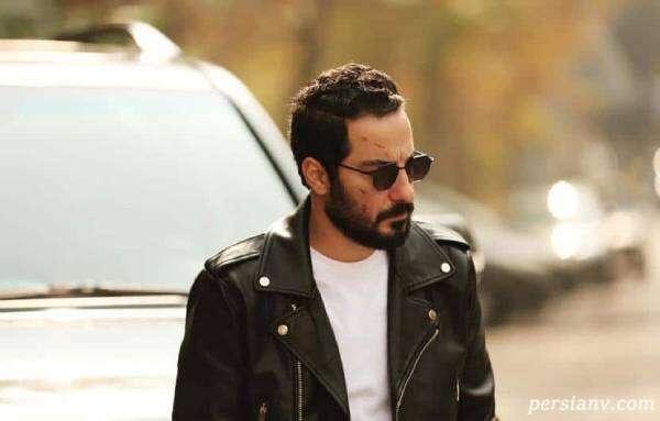 استایل جدید نوید محمدزاده با ماسک پلیسی