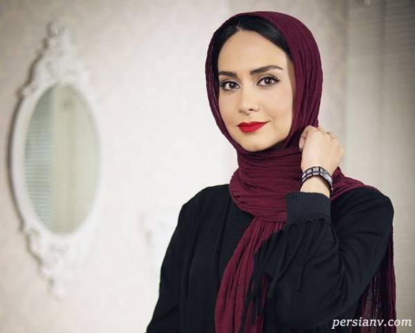 عکس جدید مریم خدارحمی بازیگر دخترم نرگس با چهره متفاوت