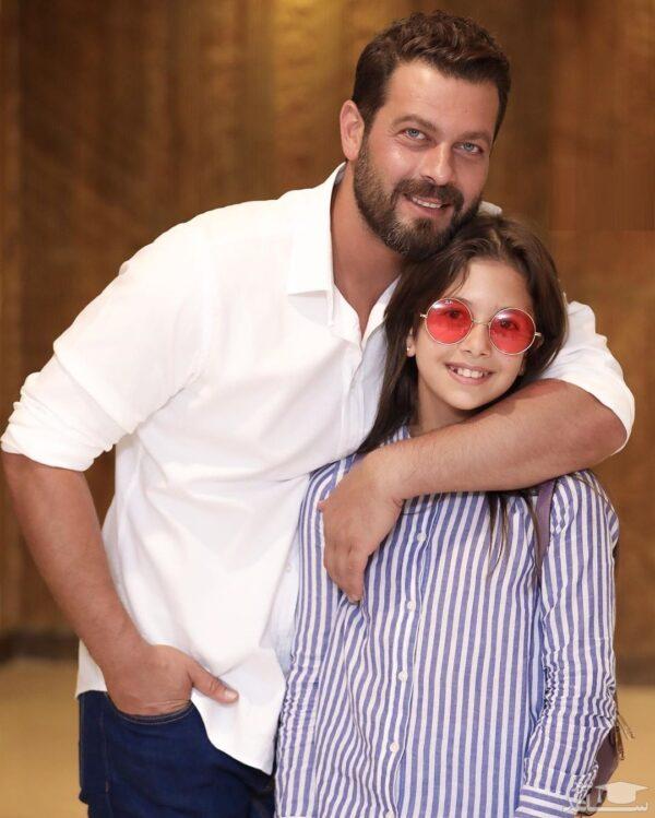آقای بازیگر و دختر بزرگش