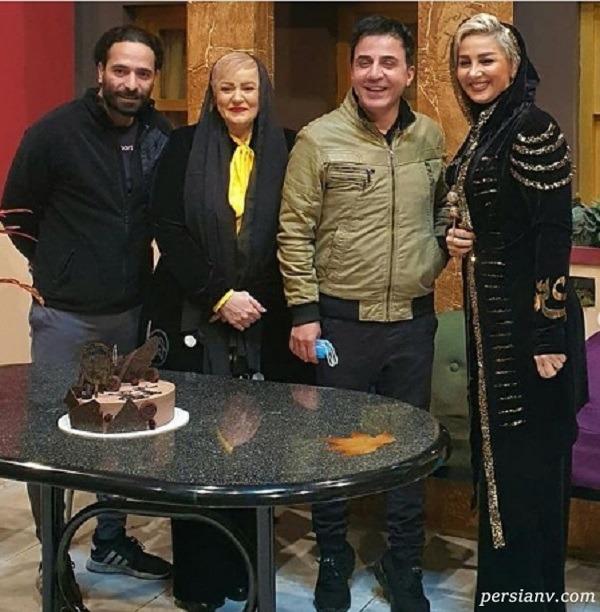 عکس تولد نعیمه نظام دوست