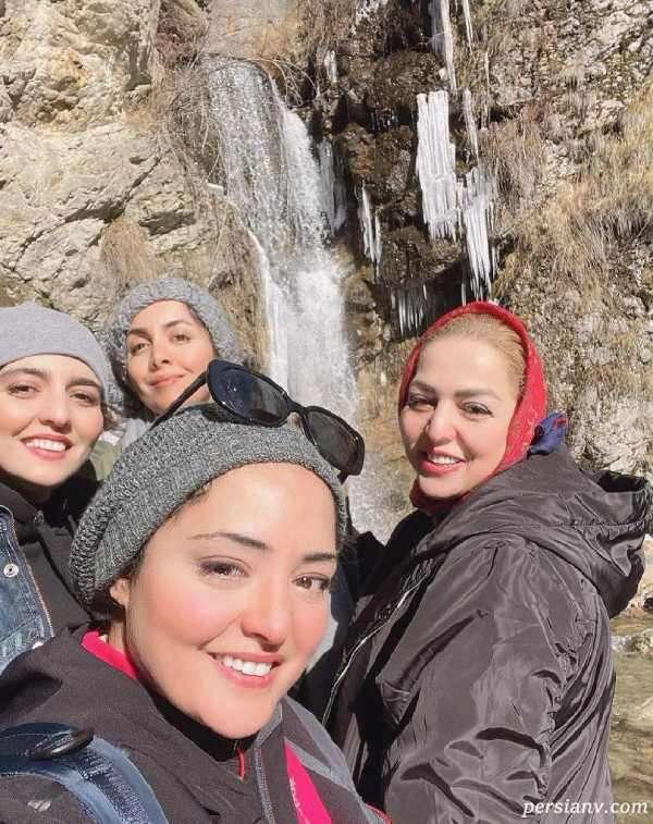 عکس نرگس محمدی و خواهرانش