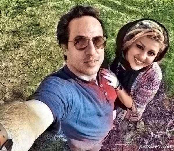 عکس رامین راستاد و همسرش