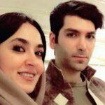 عکس های فریبا طالبی با همسرش با ست لباس زیبای نامزدی