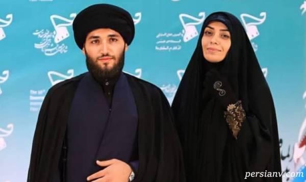 بازیگر زن و همسر روحانی اش
