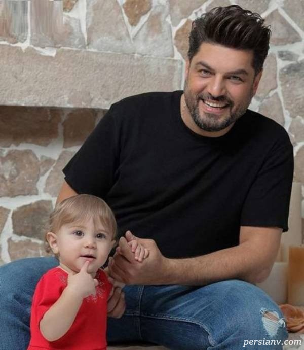 بازیگر مرد و دخترش