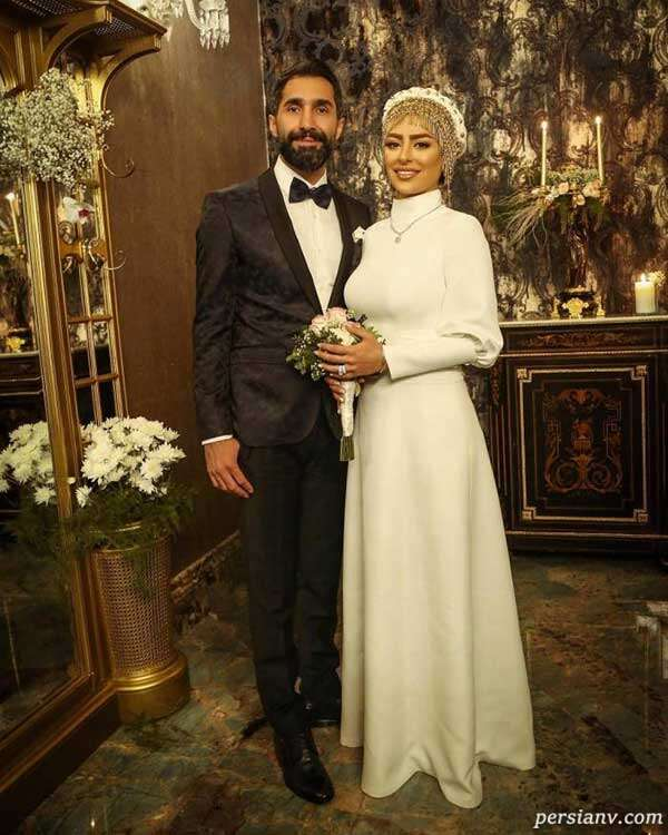 عروسی سمانه پاکدل و هادی کاظمی