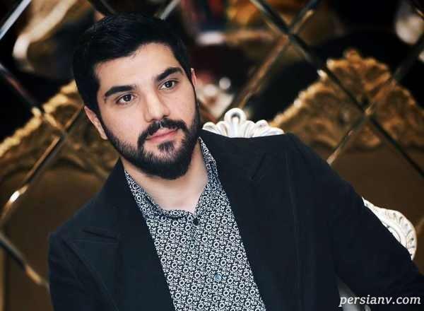 سلفی سینا مهراد آقازاده معروف تلویزیون در ماشین شخصی اش