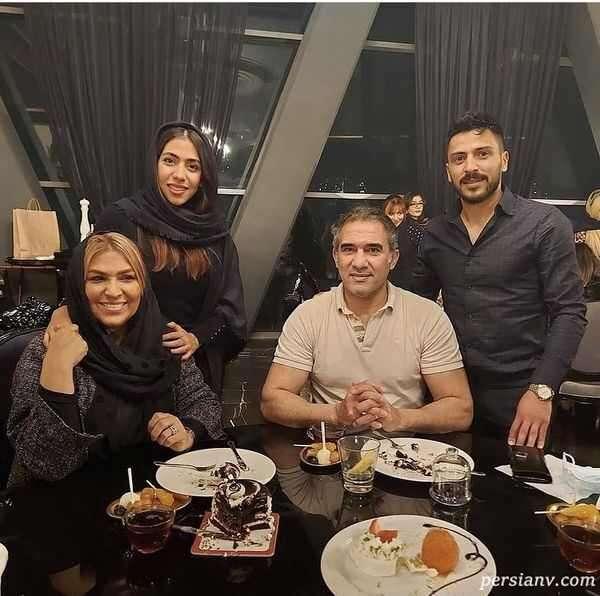 عکس خانواده احمدرضا عابدزاده