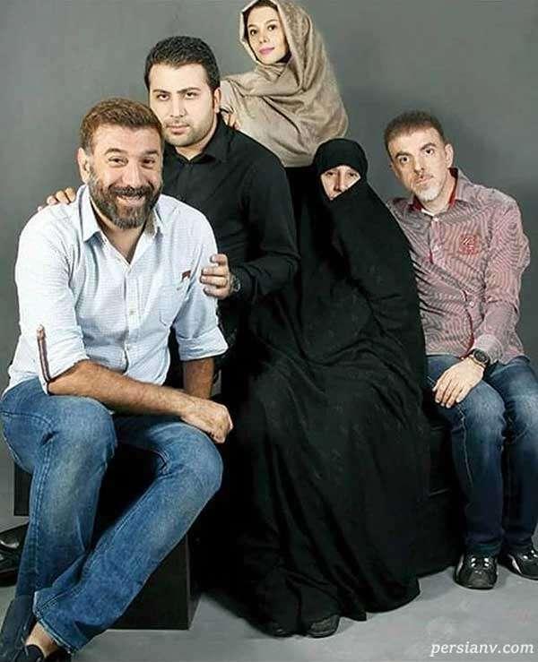 عکس خانوادگی انصاریان