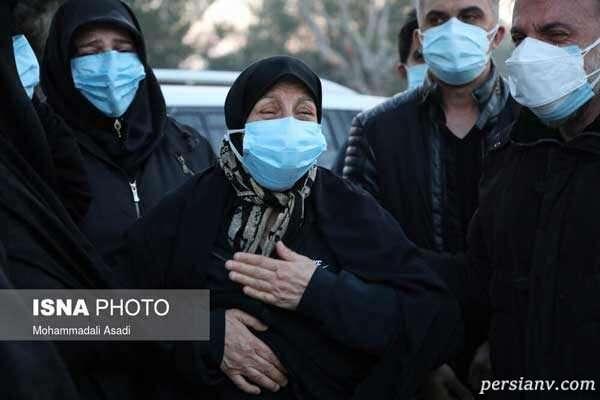 گریه مادر علی انصاریان