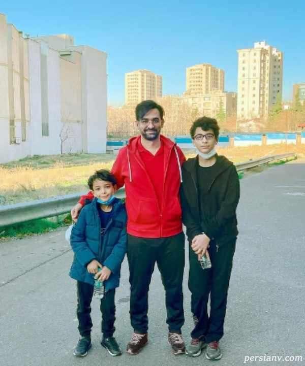 آذری جهرمی و پسرانش