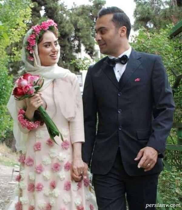 دختر لادن سلیمانی و همسرش