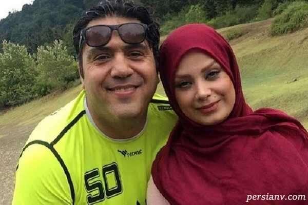 مجری جنجالی و همسرش