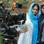 چهره متفاوت الناز شاکردوست در فوتوکال فیلم «ابلق» برج میلاد تهران