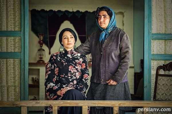 هدیه تهرانی و باران کوثری