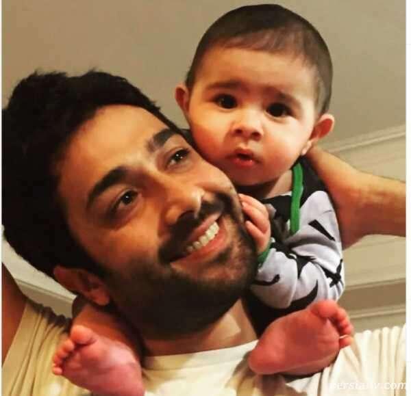 حسین مهری و پسرش هامین