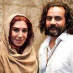 عکسی خاص از زنده یاد ابراهیم اثباتی در کنار همسرش نسیم ادبی