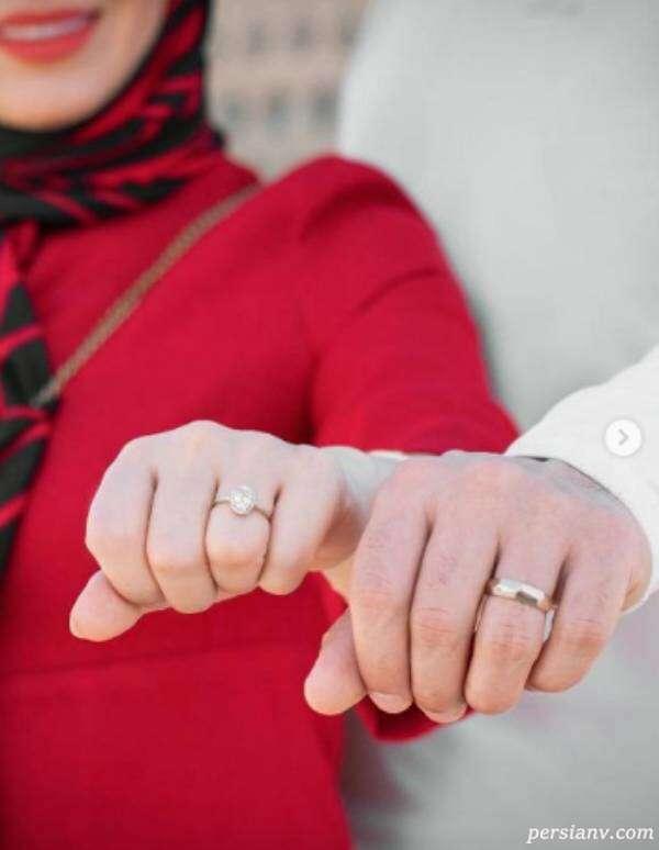 ازدواج مبینا نصیری