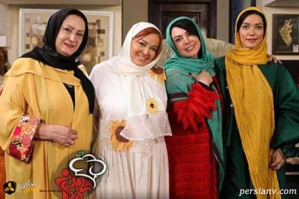 بازیگر زن در شام ایرانی