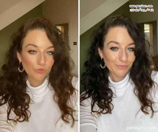 قبل و بعد فیلتر عکس