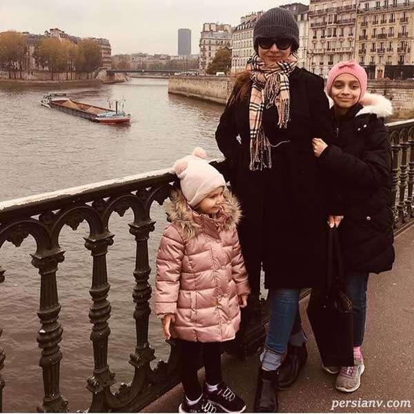 نیکی کریمی در پاریس