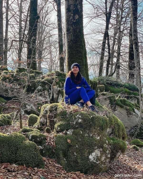 پریناز ایزدیار در شمال