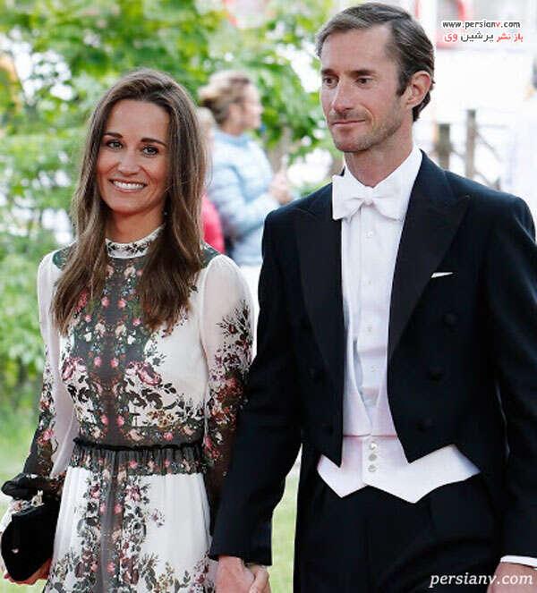 پیپا و همسرش جیمز متیوز