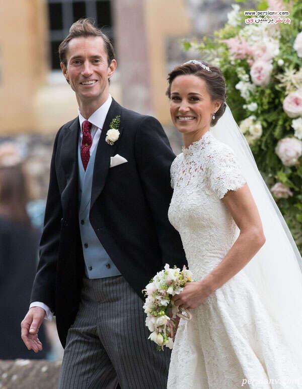 عکس عروسی پیپا
