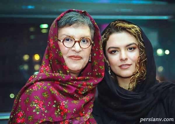 دنیا مدنی و مادرش