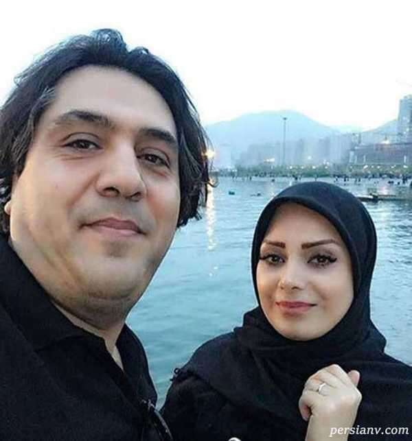 مانی رهنما و همسرش
