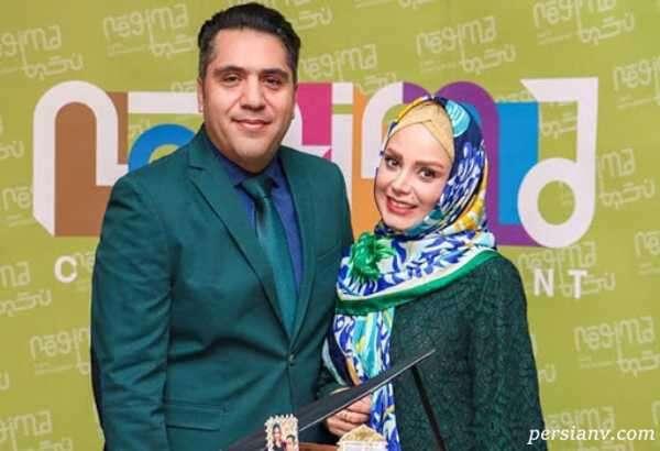 مجری و همسرش