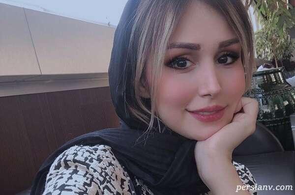 عکس عروسی سپیده بزمی پور که او منتشر کرد