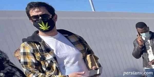 ماسک عجیب شهاب حسینی