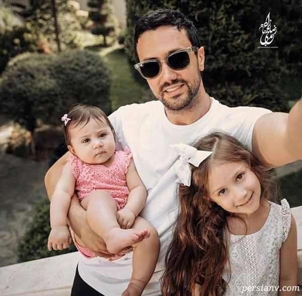 بازیگر مرد و دخترانش