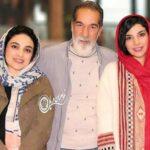 شباهت عجیب سینا مهراد و خواهرش سارا سهیلی