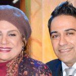 پسر گوهر خیراندیش امید اسماعیل خانی و همسرش