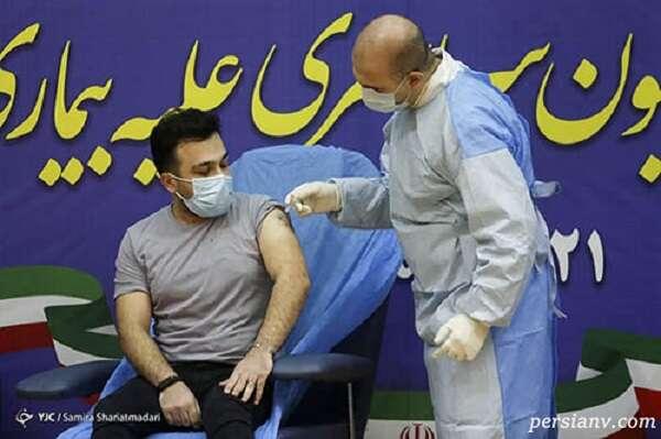 تزریق واکسن برای کادر درمان