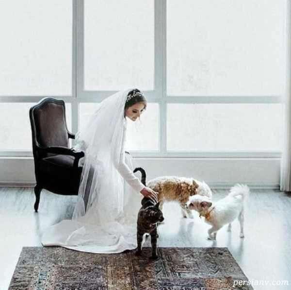 عکسهای عروسی پیمان قاسم خانی