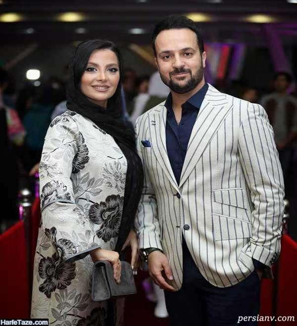 احمد مهرانفر و همسرش مونا