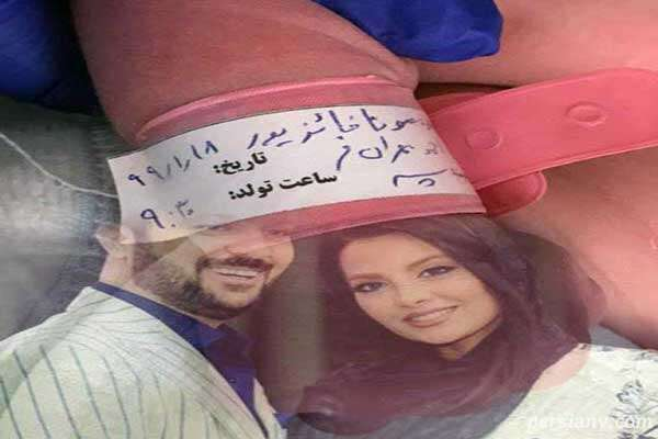 تصویر جدید احمد مهرانفر بازیگر سریال پایتخت و پسر پنج ماهه اش