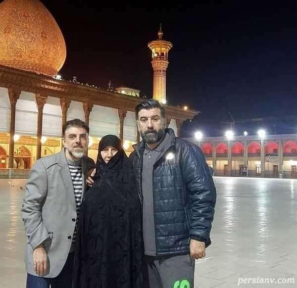 علی انصاریان با برادرش