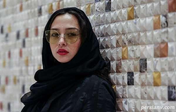 زمستانی ترین تیپ آناهیتا درگاهی بازیگر در برف