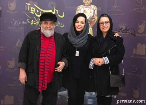محمدرضا شریفی نیا و دخترش