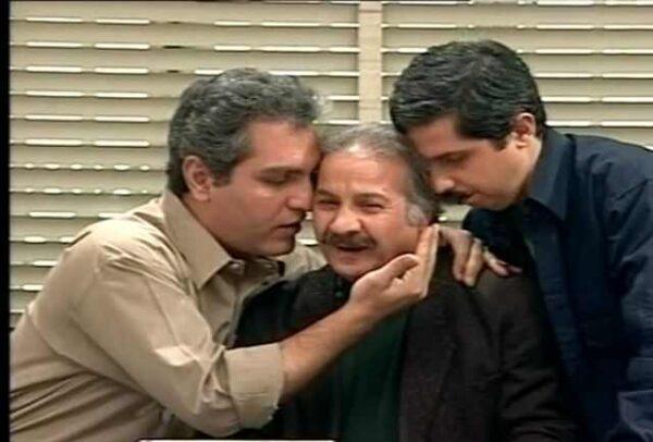مهران مدیری و بازیگرانش